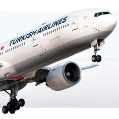 Turkish Airlines Boeing 777-3F2(ER) TC-JJP Good Night Everyone, International Airlines, Turkish Airlines, Cargo Airlines, Boeing 777, World Pictures, Airplanes, Aviation, Aircraft