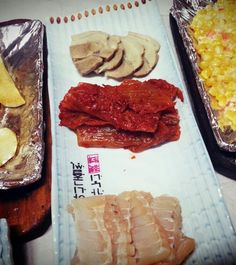 Very expensive trio of fermented fish
