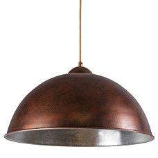 Hanglamp Onero koper zilver - 93139