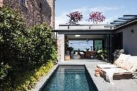 Outdoor Spaces, Outdoor Living, Loft Style Apartments, Hamptons Style Homes, Downtown Vancouver, California Style, Patio Design, Staycation, Minimalist Home