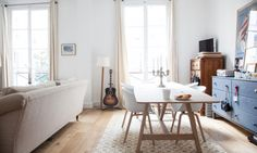 home tour: lovely flat in Paris, with Morgan, Thibault &... (via Bloglovin.com )