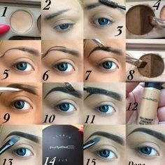 eyebrow tutorial. I run a blog with DIY&tutorials about everything: Hair, nail, make-up, clothes, baking, decorations and much more! My blog adress is: tuwws.blogspot.se