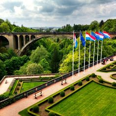 Luxembourg. More people seriously need to know about this adorable little country. It's beautiful!