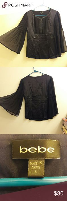 Blouses-bebe Good condition bebe Tops Blouses