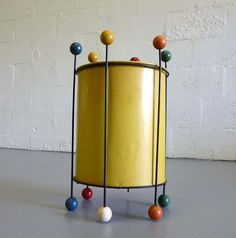 Ravenware #W78 Waste Basket designed by Richard Galef circa 1954