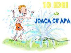 10 idei de joaca cu apa