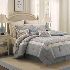 Laura Ashley Whitfield Comforter Set. King. $162.99.
