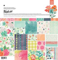 BasicGrey - Fresh Cut Collection - 12 x 12 Collection Pack at Scrapbook.com