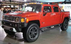 hummer H3T Would love to get one of these just in time for my son  to start driving. I would give him my '96 Kia Sportage:)