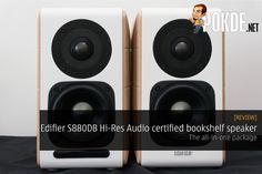 Edifier S880DB Hi-Res Audio certified bookshelf speaker review - http://pokde.la/2gg