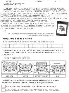 ATIVIDADES DIVERSAS CLÁUDIA: ATIVIDADES DE LÍNGUA PORTUGUESA 2