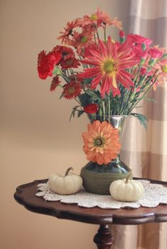 make a fall vase DIY
