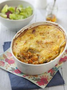 Hachis parmentier végétarien - Recette de cuisine Marmiton : une recette