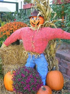 The scarecrow, one of the most familiar figures in farming communities here in the United States and in many other parts of the world, is also a traditional symbol of the harvest season.