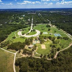 "Living in a city that is ""consciously green"" means 32 parks 25 bridges and 27 pavilions. #denton #dronestagram #landscape #aerial #green #dentontime #twenty4sevendrones"