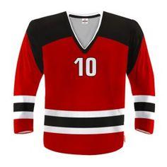 NEW JERSEY Bluza Hokejowa Z Własnym Nadrukiem / Rozne Kolory
