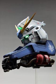 Check out the latest Gunpla Gundam News here. Gundam Head, Mobile Robot, Sculpture Head, Casting Kit, 3d Figures, Man Of War, Mecha Anime, Sci Fi Characters, Mechanical Design