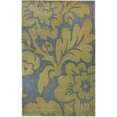 Found it at AllModern - Cine Bold Floral Blue Rug