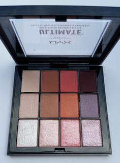 AVAILABLE – NYX ULTIMATE MULTI-FINISH SHADOW PALETTES! (Summer 2017) | NYX ULTIMATE MULTI-FINISH SHADOW PALETTE SUGAR HIGH