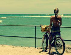 wish i could bike to the beach.