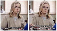 "When she used her Psych 101 vocabulary: | 17 Of The Whitest Things Piper Chapman Said In ""Orange Is The New Black"""