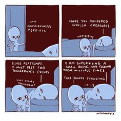 Strange Planet Nathan Pyle mom of toddlers Funny Cute, The Funny, Hilarious, Cute Comics, Funny Comics, Weird World, In This World, Planet Comics, 4 Panel Life