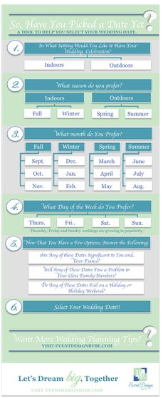 how to pick a date for wedding - Google Search