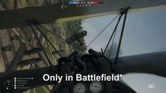 """""""Only in Battlefield"""" moment"""