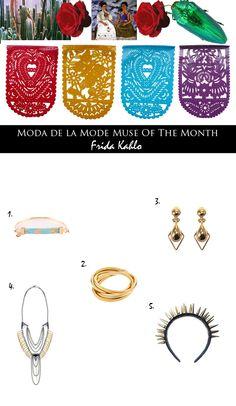 Moda de la Mode: Muse of the Month: Bejewel Yourself Like Frida