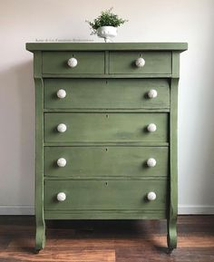 Green Painted Furniture Old Barn Milk Paint Oldbarnmilkpaint Instagram Photos And