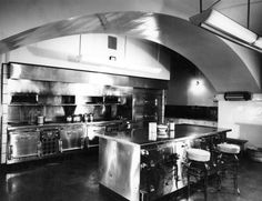 The White House Kitchen, 1948. When Harry S Truman moved into The White House it had not been renovated since 1902, when Theodore Roosevelt was President. This image was taken right before the renovations made to the White House during Harry S. Truman's time in office. White House Renovations