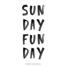 Sunday fun day ✌️