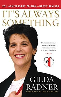 It's Always Something: Twentieth Anniversary Edition by Gilda Radner chronicles her battle with ovarian cancer leading up to her death. Somehow, she delivers it with hope and the humor she lived with. The audio book was read in her own voice. http://www.amazon.com/dp/1439148864/ref=cm_sw_r_pi_dp_dgL7tb0PMEBBR