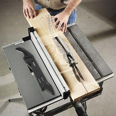 A table saw is a wel