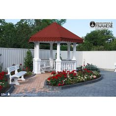 Foisor din Coloane Ornamentale si balustri in Stil Corintic Gazebo, Outdoor Structures, Kiosk, Pavilion, Cabana