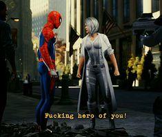Spider Verse, Marvel Universe, Ps4, Spiderman, Heaven, Silver, Black, Brides, Men