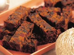 Easy melt-and-mix fruit cake recipe - By Australian Women's Weekly, Rich, dense fruit cake is a real treat to the connoisseur, and this easy melt-and-mix recipe make turning out a winner almost effortless. Easy Cake Recipes, Sweet Recipes, Baking Recipes, Dessert Recipes, Easy Fruit Cake Recipe, Fruit Cake Recipes, Quick Fruit Cake, Fruit Snacks, Pumpkin Recipes