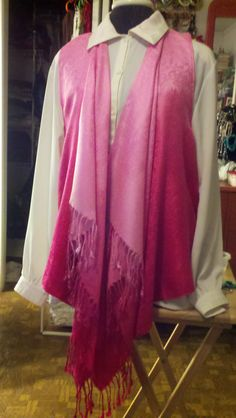 Love this Pashmina Scarf Vest that JWayDesinz makes.  The proceeds go to the Susan G Komen for Breast Cancer research.  LOVE IT!!!!!!