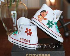 239ccdb7b Moana Birthday Outfit, Baby Moana Birthday, Disney, Moana Outfit, Disney  Shoe, Disney Converse, Baby Moana Bling Shoes, Baby Moana Disney