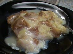Bread Pudding with Hot Buttered Rum Sauce