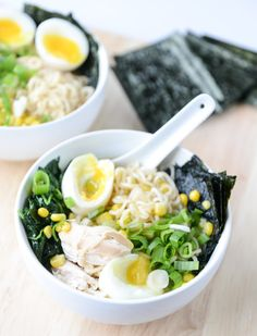 Sweet corn season is wrapping up and this recipe is perfect to make with this delicious veggie! Try this flavorful Roasted Chicken Ramen recipe that takes practically no time at all.