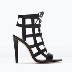 Lace-Up Heels On The High Street | sheerluxe.com