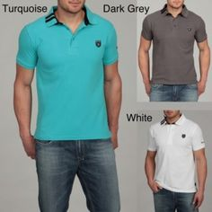 @Overstock - Classic and refined, this handsome polo shirt from English Laundry features a striped collar detail and logo design. Short sleeves and a pointed collar finish this stylish shirt.http://www.overstock.com/Clothing-Shoes/English-Laundry-Mens-Polo-Shirt/6220224/product.html?CID=214117 $39.99