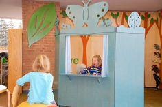LFI Installation of Children's Puppet Theatre