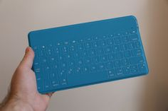Take your keyboard anywhere with the Logitech Keys-To-Go Standalone Wireless Bluetooth Keyboard, which is a super slender, uber handy and ultra portable keyboard. Bluetooth Keyboard, Computer Keyboard, Keyboard Keys, New Gadgets, Cool Gadgets, Keys To Go, Best Ipad, New Ios, Logitech