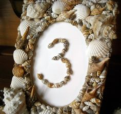 Beach Wedding  Shell Table Numbers  Table Number by BeezDream, $12.50