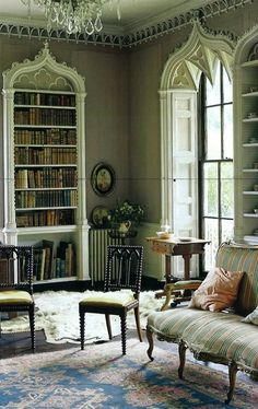 Gothic architectural accents
