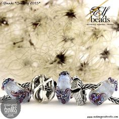 Elfbeads Ice Lilies