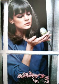 Jean Shrimpton.  There you are Claude! You're on a comedy roll Ms S! X