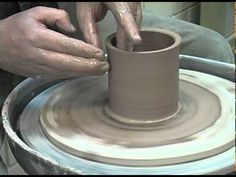 How to throw a cylinder- will help for pieces more height is wanted